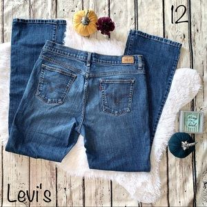 Levi's Boot Cut 515 Jeans Size 12 Medium